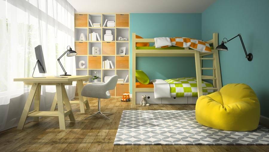 Hochbett für Kinder