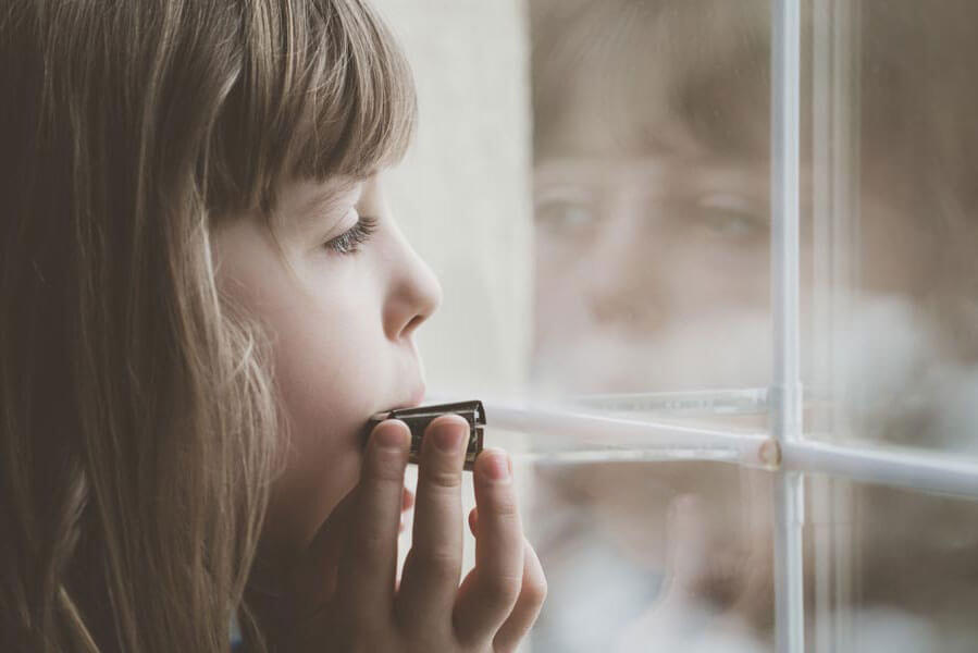 Kinder-Mundharmonika