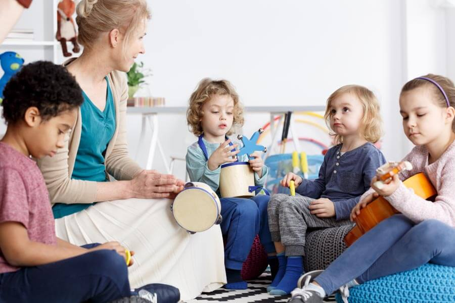 Percussion-Instrumente für Kinder