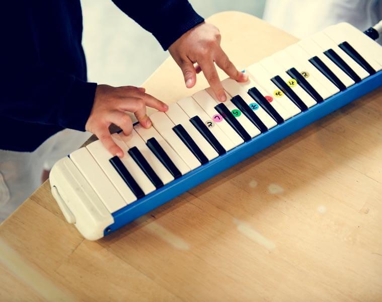 Spielzeug-Keyboard