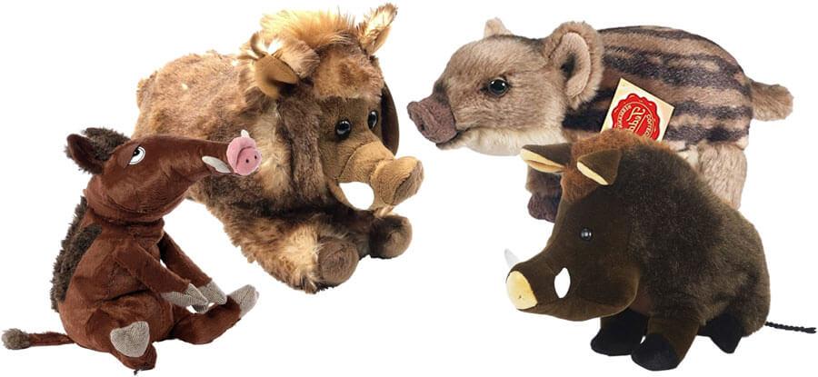 Wildschwein Kuscheltiere